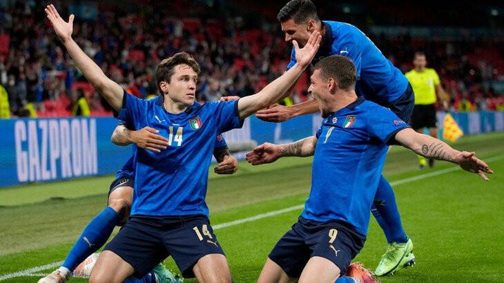 Сборная Италии на Евро-2020 выиграла пять матчей подряд