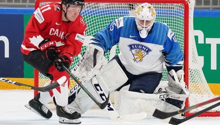 Финляндия и Канада во второй раз кряду сыграют в финале чемпионата мира