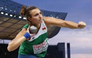 Белоруска Алена Дубицкая пробилась в финал Олимпиады в толкании ядра