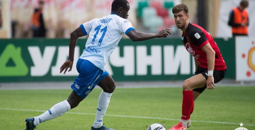 Динамо-Минск: «Действия Мбенга будет оценивать компетентный орган ФИФА по разрешению споров»