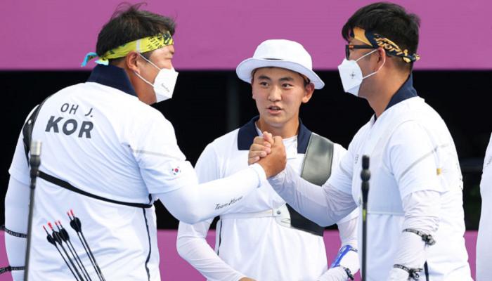 Южная Корея стала победителем мужского турнира по стрельбе из лука на Олимпиаде в Токио