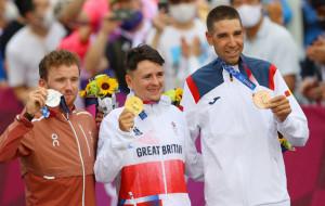 Пидкок выиграл золотую медаль на Олимпиаде в Токио по маунтинбайку