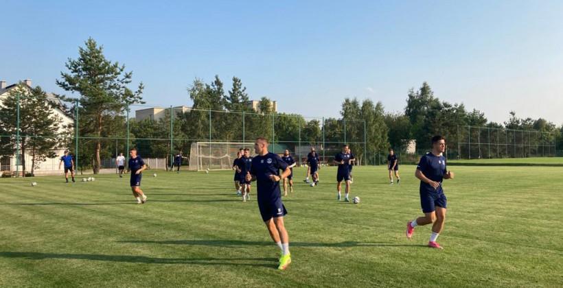 Динамо готовится к матчу с Викторией в Жодино
