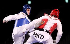 Россиянин Ларин выиграл золотую медаль по тхэквондо в категории свыше 80 кг