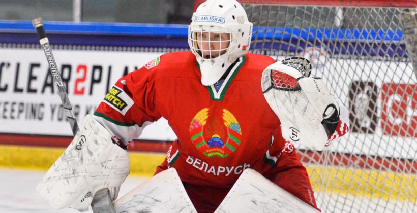 Тихон Чайка: мысль, что могу стать первым белорусским вратарем в СHL, меня постоянно подпитывает