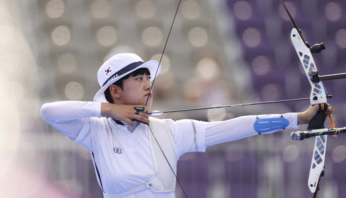 Ан Сан выиграла золото Олимпиады по стрельбе из лука