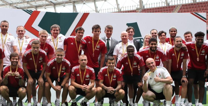 Лисакович получил бронзовую медаль за третье место в РПЛ сезона-2020/21