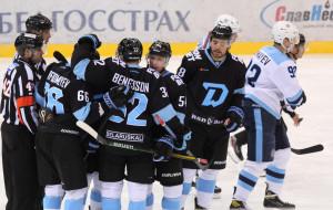 Благодаря хет-трику Мосалева минское Динамо в товарищеском матче обыграло Сибирь