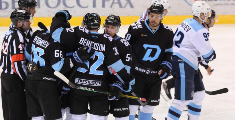 Сегодня минское Динамо проведет первый матч в регулярном чемпионате КХЛ сезона-2021/22