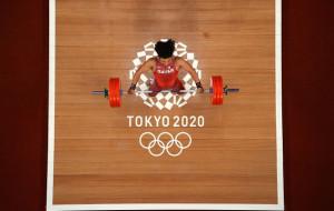 Фарис Ибрахим Эльбах с олимпийским рекордом выиграл золото в тяжёлой атлетике до 96 кг