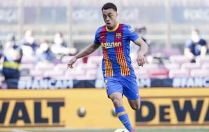 Сержиньо Дест выразил желание остаться в Барселоне и бороться за место в составе
