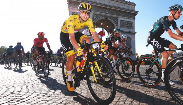 Тадей Погачар стал триумфатором Тур де Франс-2021