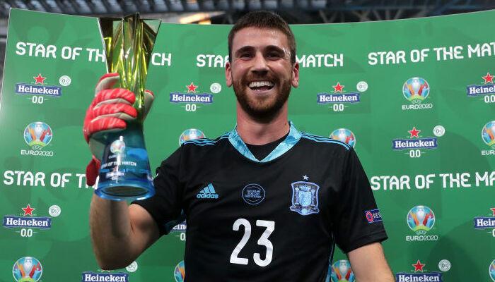 Симон — лучший игрок матча Швейцария — Испания