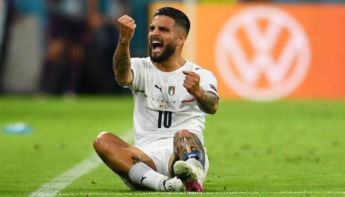 Инсинье признан лучшим игроком матча Бельгия — Италия