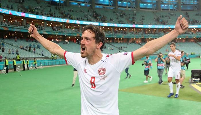 Дилэйни признан лучшим игроком матча Чехия — Дания
