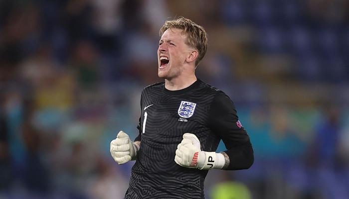 Cборная Англии обновила личный рекорд по числу минут без пропущенного мяча