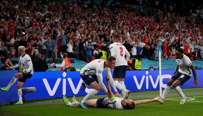 Англия вышла в финал Евро-2020, обыграв в дополнительное время Данию