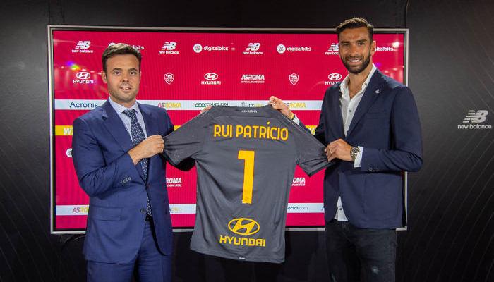 Рома объявила о переходе Руя Патрисиу