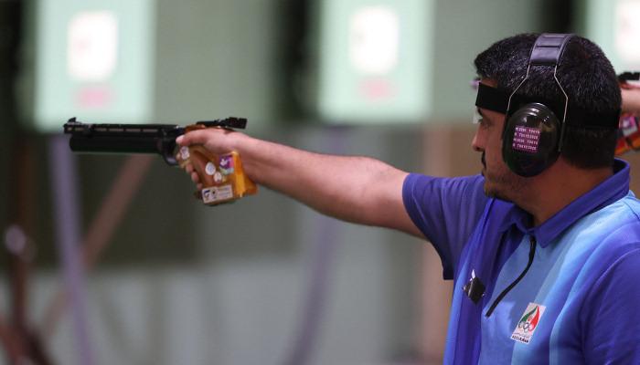 Иранец Джавад Форуги завоевал золото в пулевой стрельбе