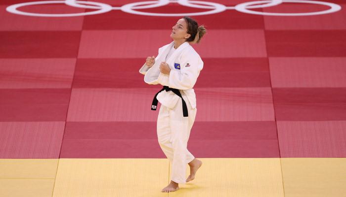 Дистрия Красники завоевала золото в соревнованиях дзюдоистов
