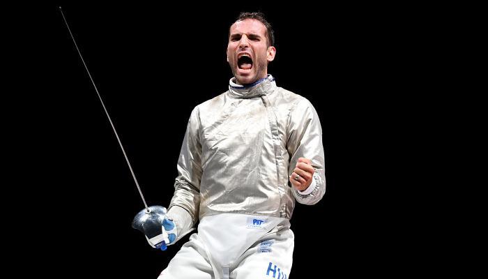 Олимпийским чемпионом в фехтовании на саблях стал Арон Силадьи