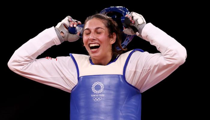 Представительница США Золотич выиграла золото на олимпийских соревнованиях по тхэквондо до 57 кг