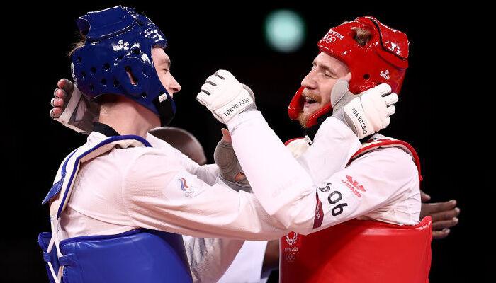 Максим Храмцов завоевал золото в соревнованиях по тхэквондо