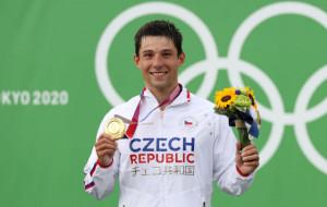 Иржи Пршкавец взял золото в гребном слаломе на Олимпиаде в Токио