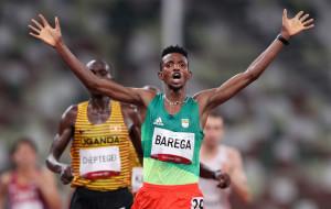 Селемон Барега стал Олимпийским чемпионом в беге на 10 км