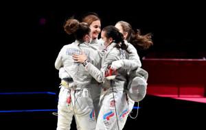 Женская сборная России выиграла олимпийский турнир по фехтованию на саблях