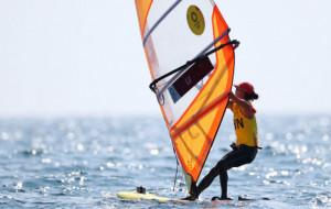 Лу Юньсю завоевала золото Игр в соревнованиях по парусному спорту