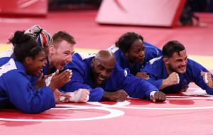 Сборная Франции по дзюдо завоевала золотые медали Олимпийских игр