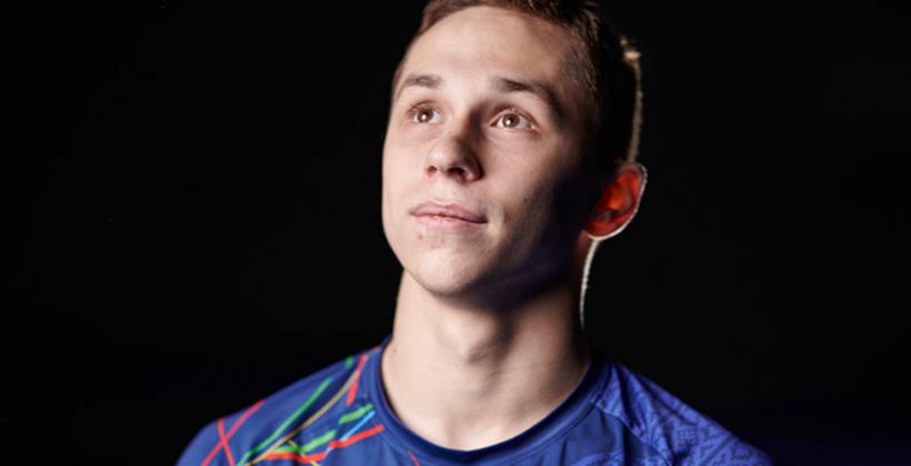 Иван Литвинович завоевал золото в прыжках на батуте