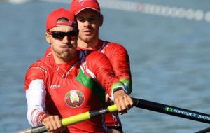 Два белорусских экипажа академических двоек вышли в полуфинал Игр