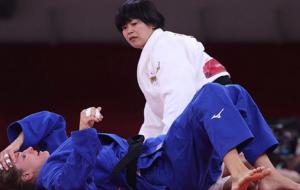 Сори Хамада завоевала золото Олимпиады в соревнованиях дзюдоистов