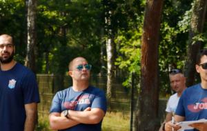 Тимбилдинг Мешков Бреста на Белом озере (видео)