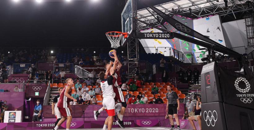 Мужская сборная Латвии завоевала золото в олимпийских соревнованиях по баскетболу 3×3