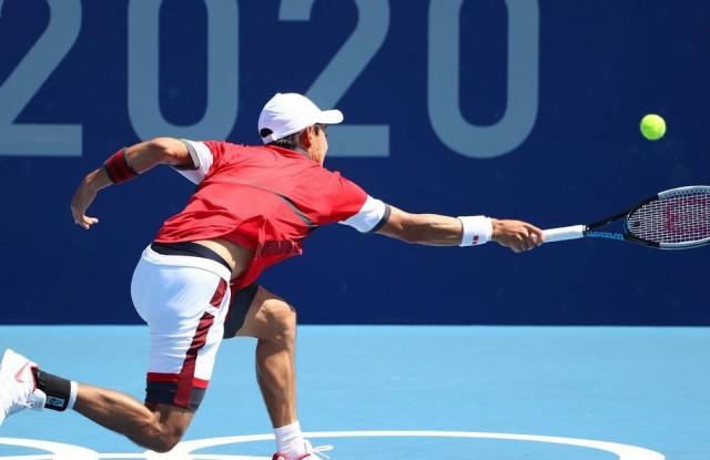 Илья Ивашко не смог выйти в четвертьфинал олимпийского теннисного турнира