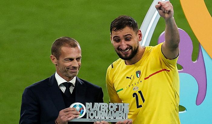 Джанлуиджи Доннарумма стал лучшим игроком Евро-2020