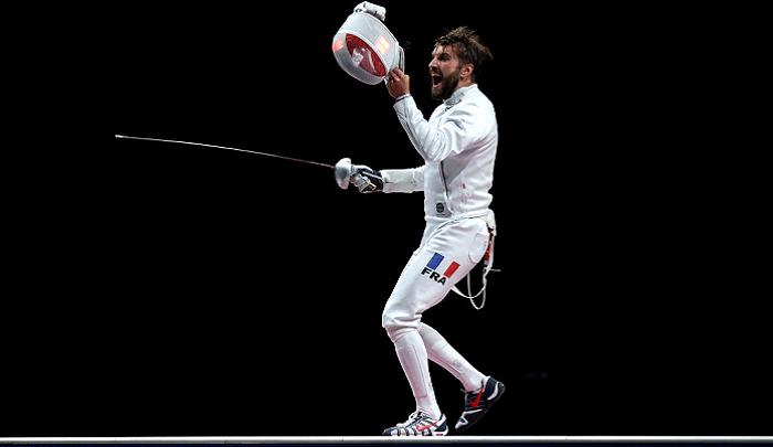 Ромен Каннон стал олимпийским чемпионом по фехтованию на шпагах