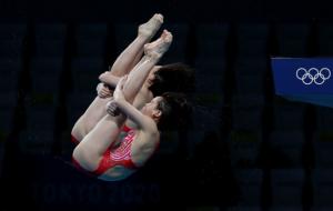 Чжан Цзяци и Чэнь Юйси стали Олимпийскими чемпионками по синхронным прыжкам в воду с 10 метров
