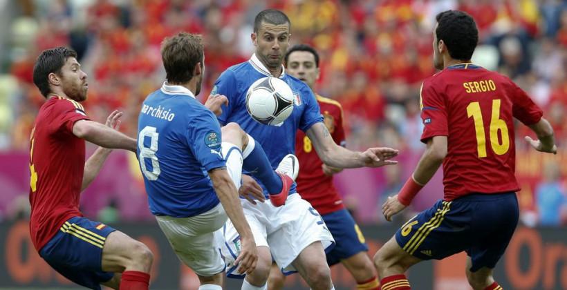 ЕВРО-2020: Италия и Испания – футбольное искусство
