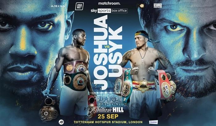 Усик и Джошуа проведут бой 25 сентября на стадионе Тоттенхэм Хотспур