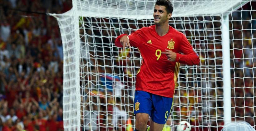 Альваро Мората — самый результативный игрок сборной Испании на Евро