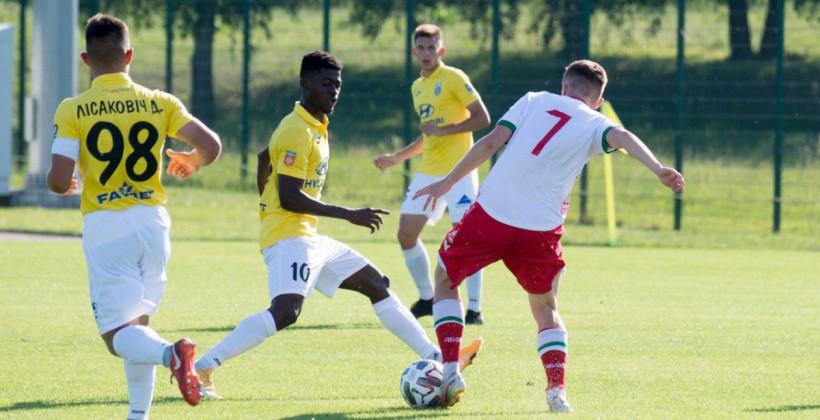 Юниорская сборная Беларуси сыграла вничью с Ислочью в товарищеском матче