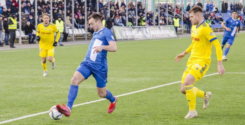 Копитович, Умаров и Сигневич – в стартовом составе БАТЭ на матч против Витебска