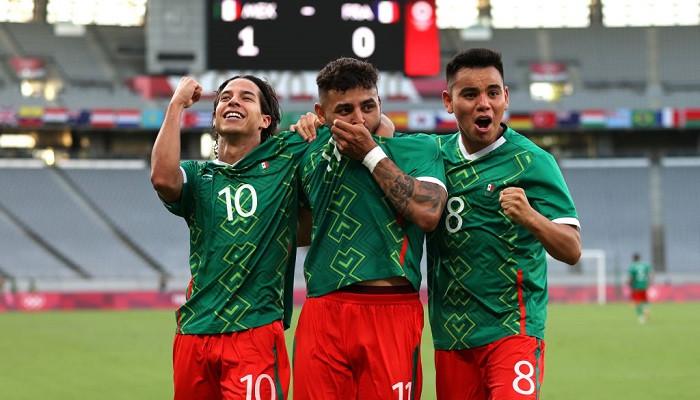 Сборная Франции потерпела крупное поражение от команды Мексики