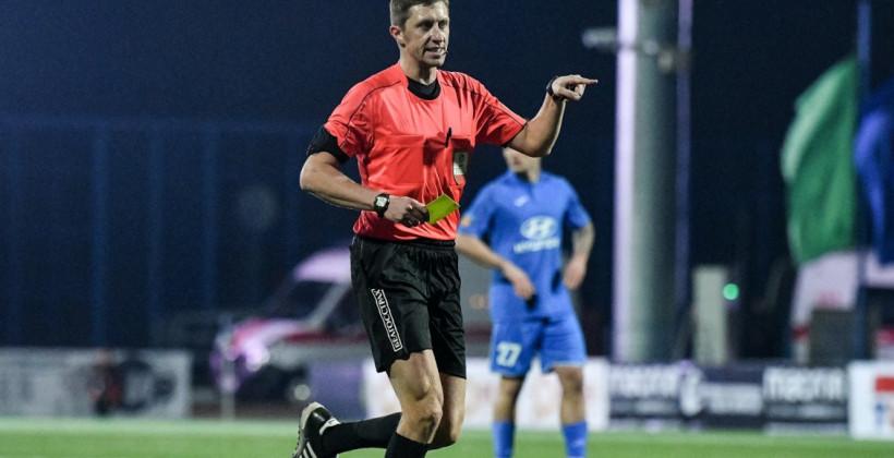 Бригада Шимусика отработает на матче первого квалификационного раунда Лиги конференций