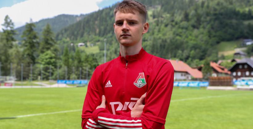 Зинович дебютировал за фарм-клуб Локомотива
