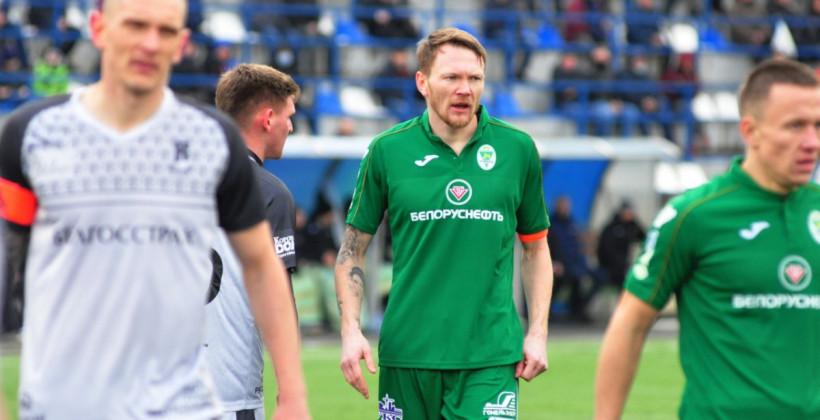 Юденков, Васьков и Соловей — в стартовом составе Гомеля на матч против Руха